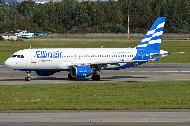 Ellinair, SX-EMY, Airbus A320-214