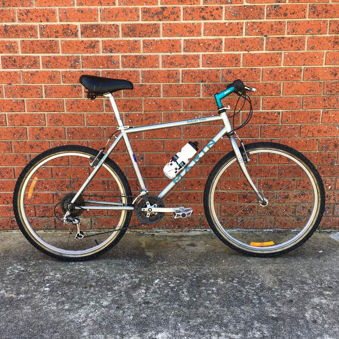 90's-era Marin Bobcat Trail mountain bike