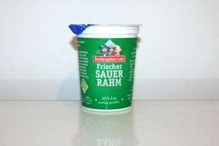 15 - Zutat Sauerrahm / Ingredient sour cream