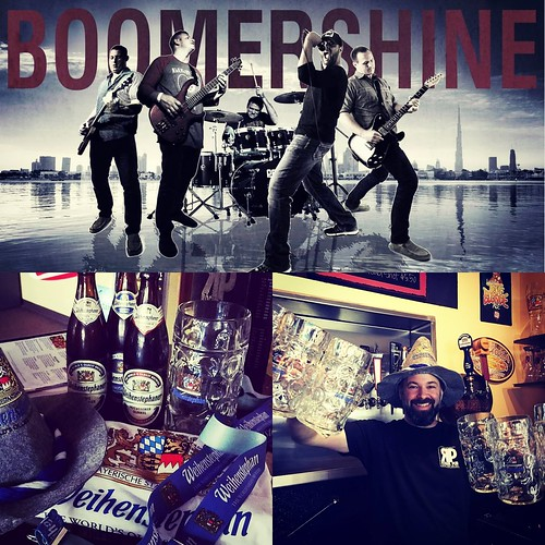 Join us Saturday, September 22nd starting at 6p for Oktoberfest at Roque Pub!  Purchase a signature Weihenstephaner Liter Stein and get $10 fills on select drafts while supplies last!  Giveaways, drink specials, live music provided by Boomershine and Okto