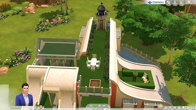 Telhados de Vidro Chegando ao The Sims 4 para Consoles