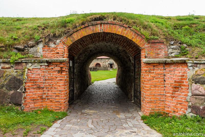 Водяные, или Мельничные ворота, крепость Корела в Приозерске