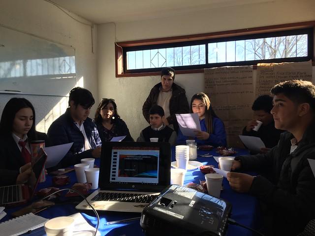 Alumnos en Consejo Consultivo de San Pedro de la Paz