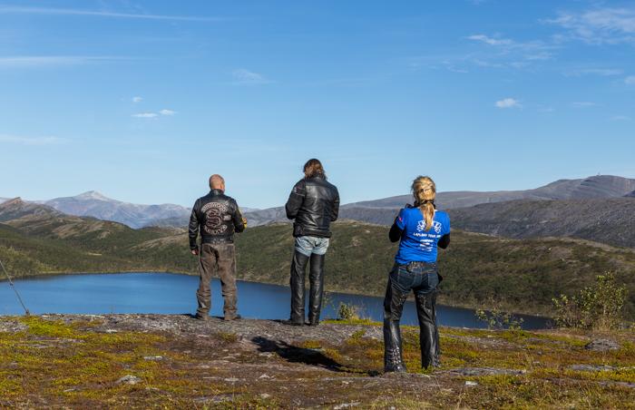 Pohjois-Norja maisema tunturi syksy Norway fjell