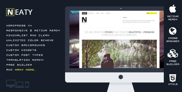 Neaty v1.0.1 – Responsive Portfolio WordPress Theme