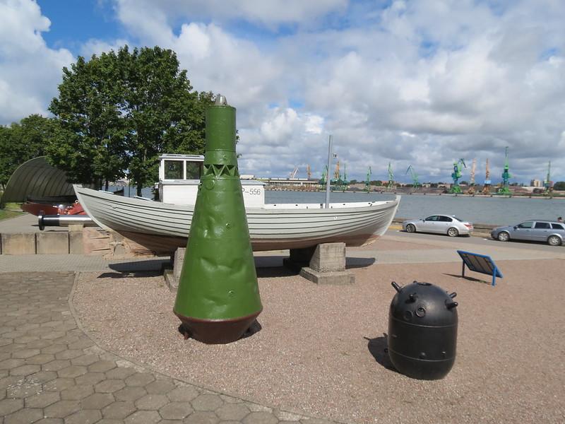Lietuvos jūrų muziejaus lauko ekspozicijojeIMG_1490