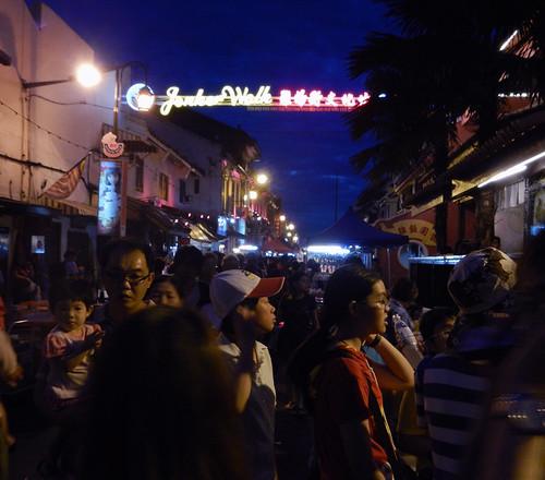 Night Market in Melaka, Malaysia