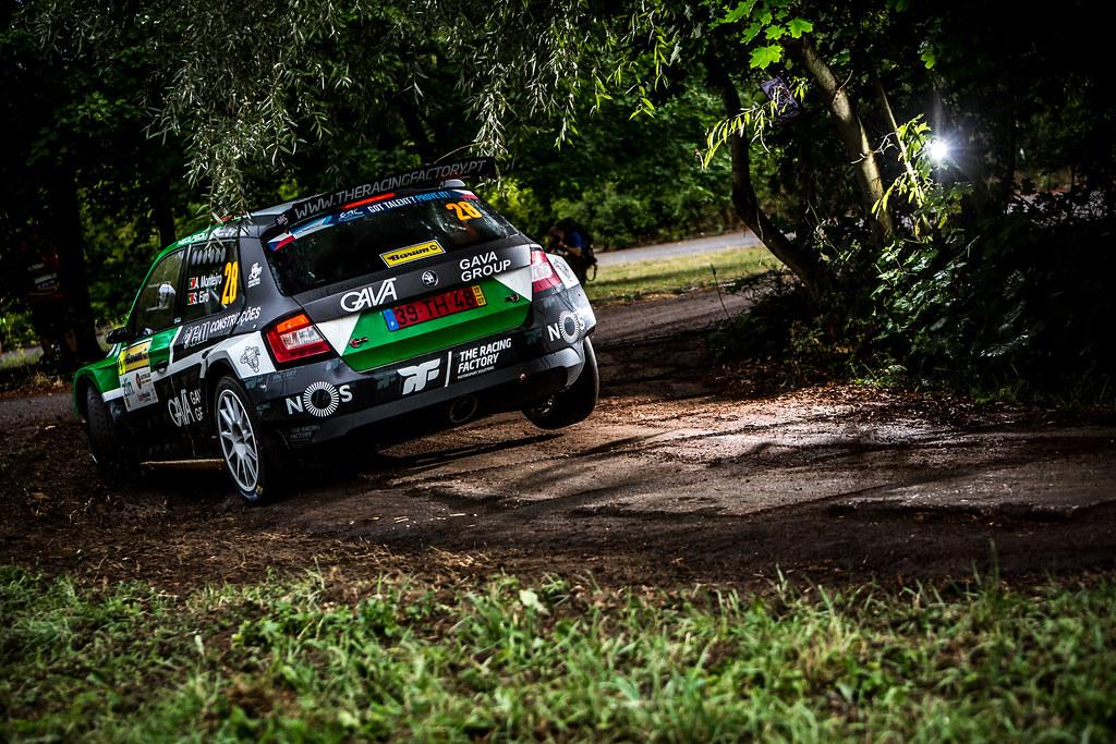 28 Monteiro Aloisio, Eiro Sancho, PRT/PRT, Skoda Fabia R5, Action during the 2018 European Rally Championship ERC Barum rally,  from August 24 to 26, at Zlin, Czech Republic - Photo Thomas Fenetre / DPPI