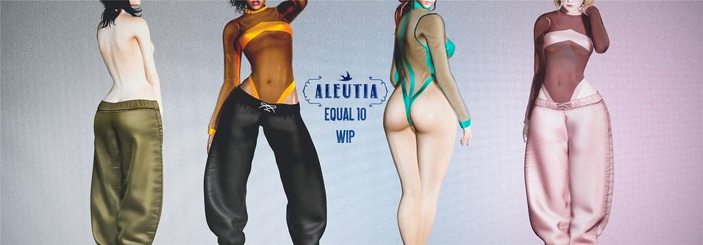 [Aleutia] Equal10 WIP! ♥