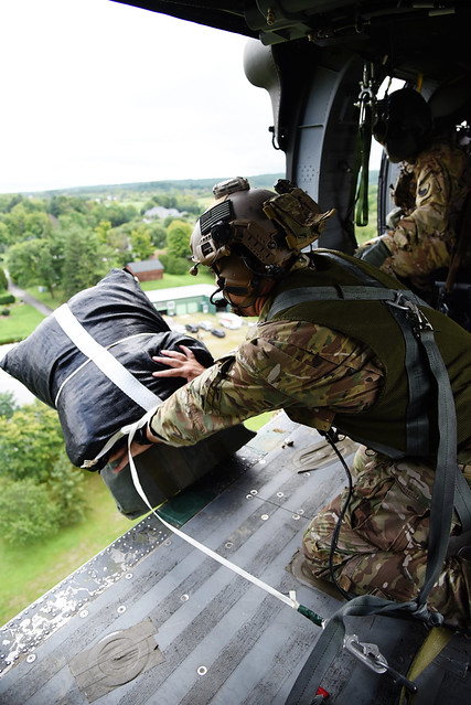 Va. National Guard aviators support SF training in N.Y.