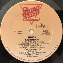 BRICK:STONEHEART(LABEL SIDE-A)