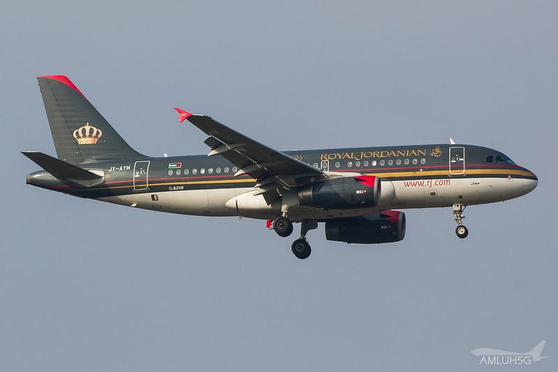 Royal Jordanian - A319 - JY-AYM (1)