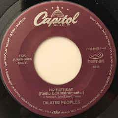 DILATED PEOPLES:NO RETREAT(LABEL SIDE-B)