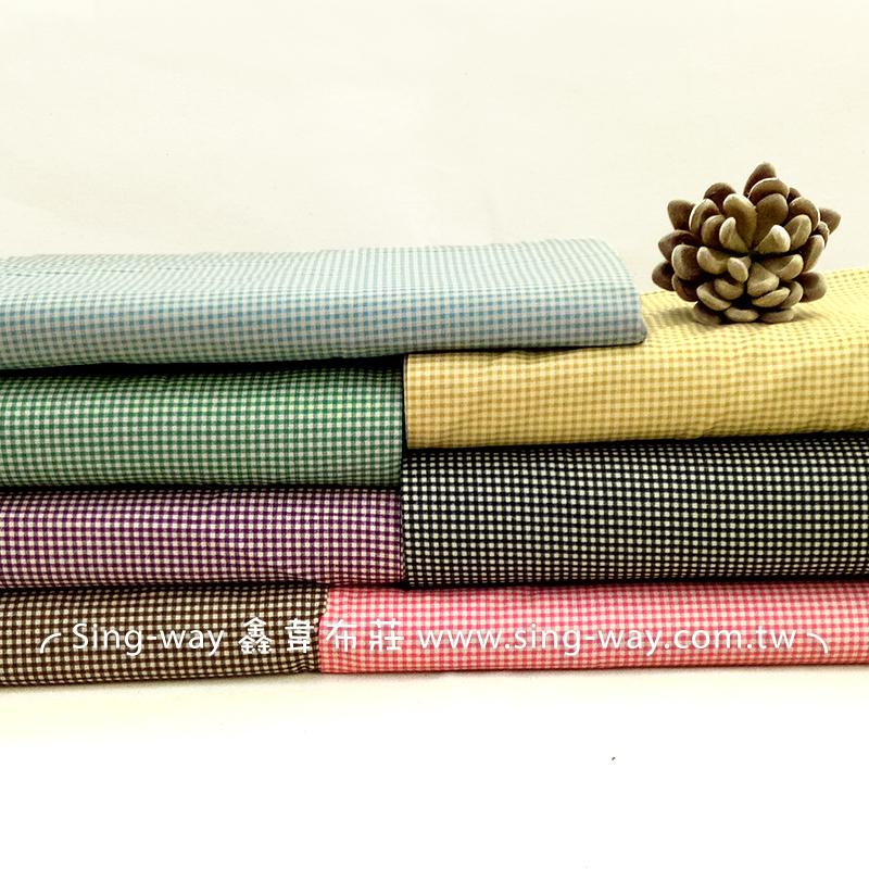小方格(大特價) 方格紋 手工藝DIY拼布布料 CA450220