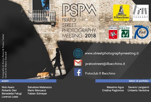 Prato Street Photography Meeting 2018
