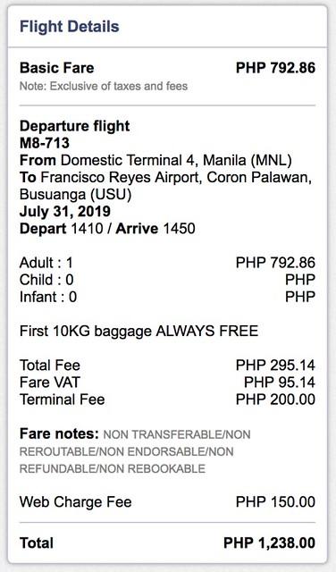 Manila to Coron SkyJet Airlines September Savings Spree Promo