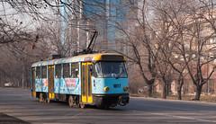Almaty tramway (closed): Tatra T4D # 1017
