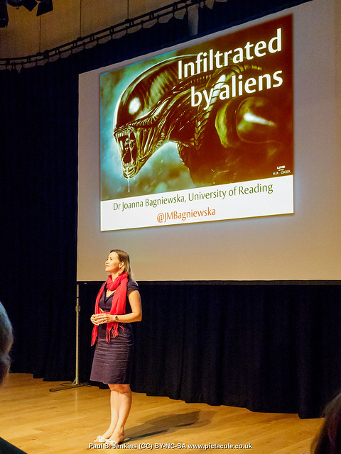 Aliens Among Us - Dr Joanna Bagniewska - Winchester Skeptics, 30 August 2018