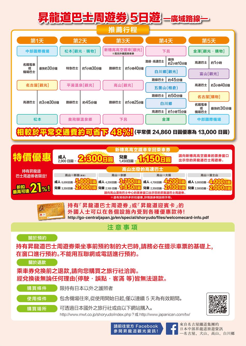 昇龍道高速巴士票卷13000-2