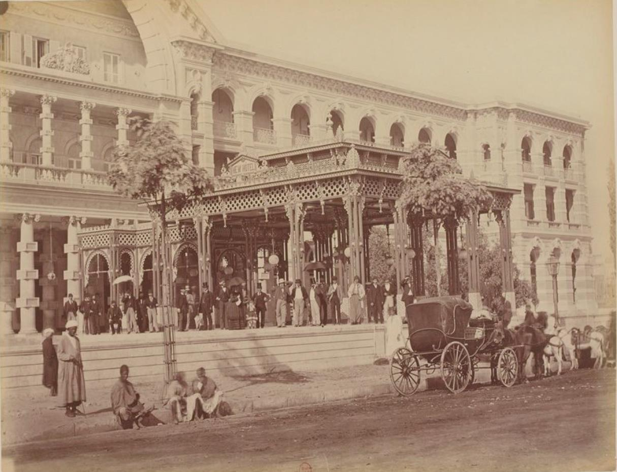 1874. Фотографический альбом зданий, возведенных в новом Каире во время правления хедива Исмаил-Паши