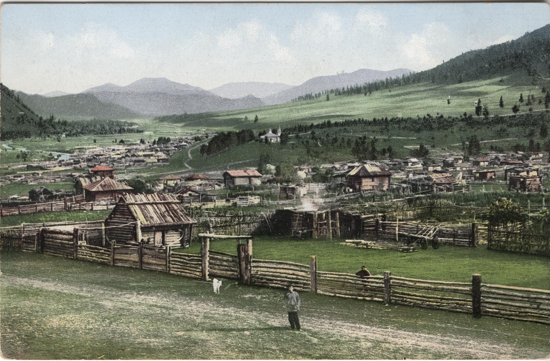 Общий вид села Черга
