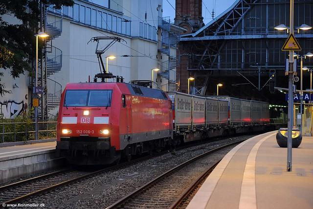 DB Cargo 152 006, Nikon D3S, AF Nikkor 85mm f/1.8