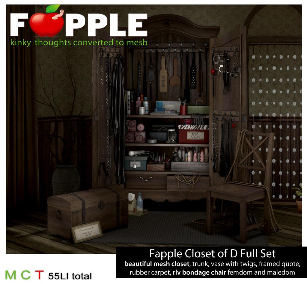 Fapple - Closet of D - TeleportHub.com Live!