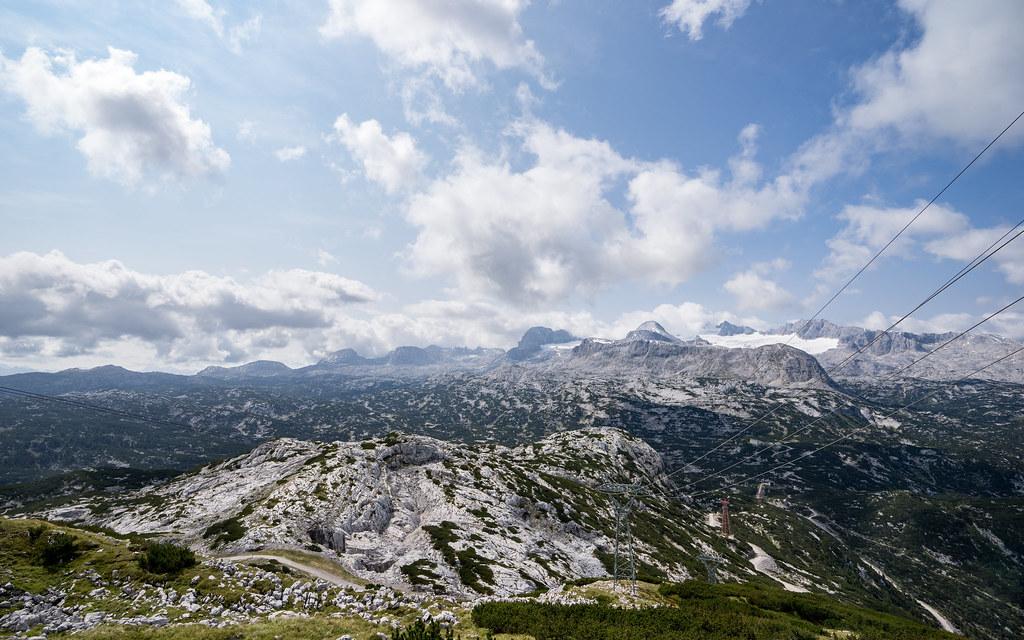 Dachstein and glacier