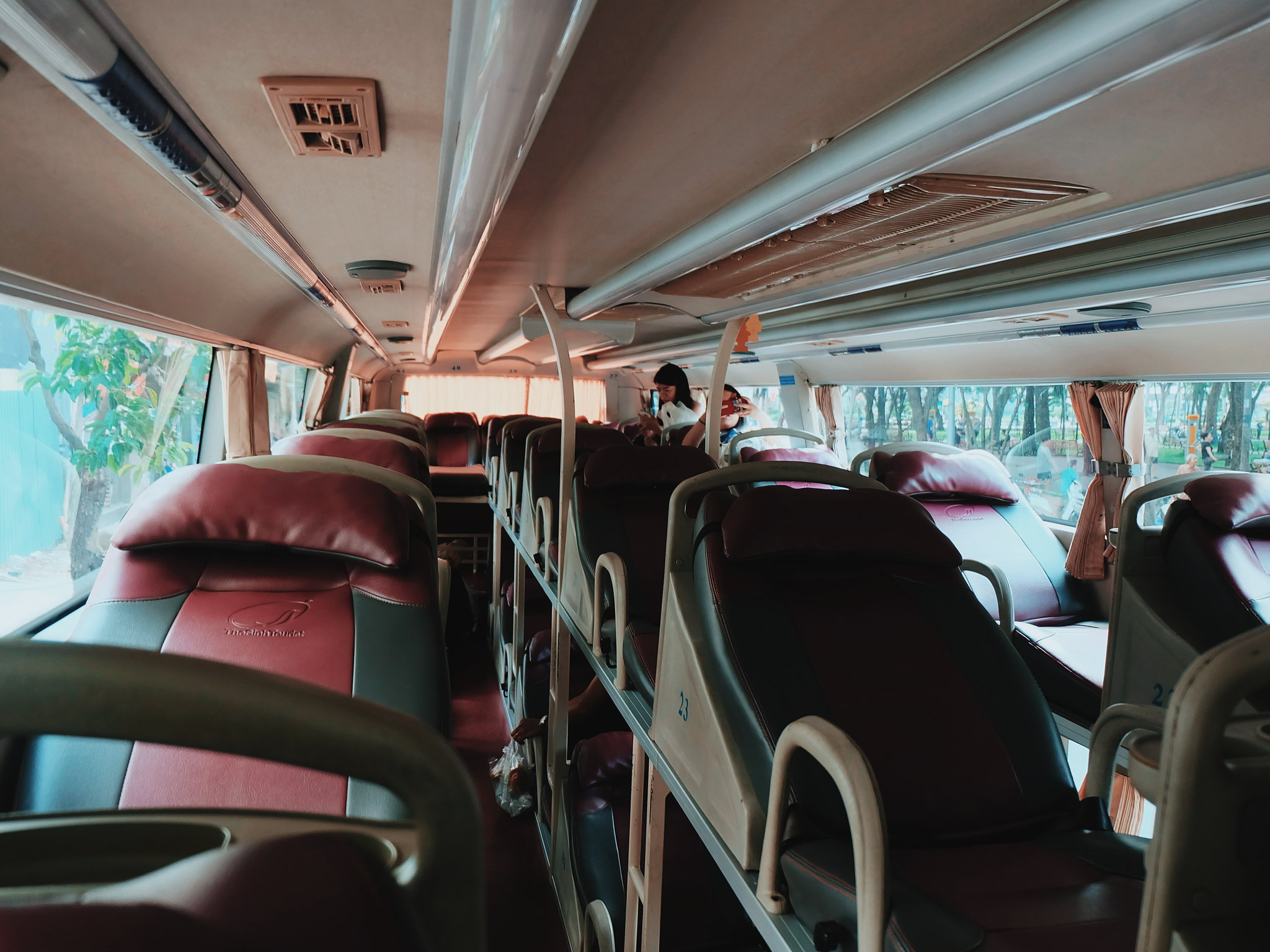 Sleeper Bus from Ho Chi Minh to Mui Ne via Sinh Tourist Bus