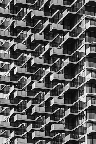 Architectural abstract of Monde Condominiums - Toronto | by Phil Marion