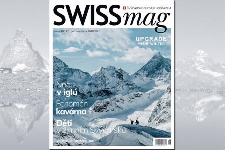 Léto skončilo a my se vrátili z cest. Je pravděpodobné, že pokud jste se i vy mihli ve Švýcarsku, už se vám asi stýská. Abyste si zlepšili náladu a připomněli si švýcarské reálie, přichází nový SWISSmag, časopis o švý...