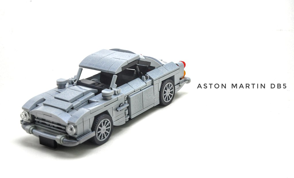 This is my 7-dtud version of the Aston Martin DB5!  video here: https://bit.ly/2NEwmkZ  Check out more photos on my: Flickr: https://bit.ly/2x2jUBY Instagram: https://bit.ly/2LzssIT Facebook: https://bit.ly/2MuqCGZ