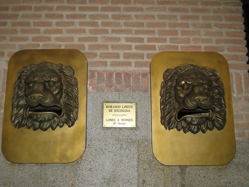 Los leones - casillas de correoIMG_3227