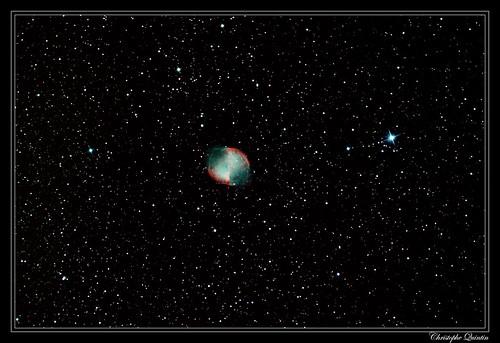 Nébuleuse de l'haltère (M27 - NGC 6853)