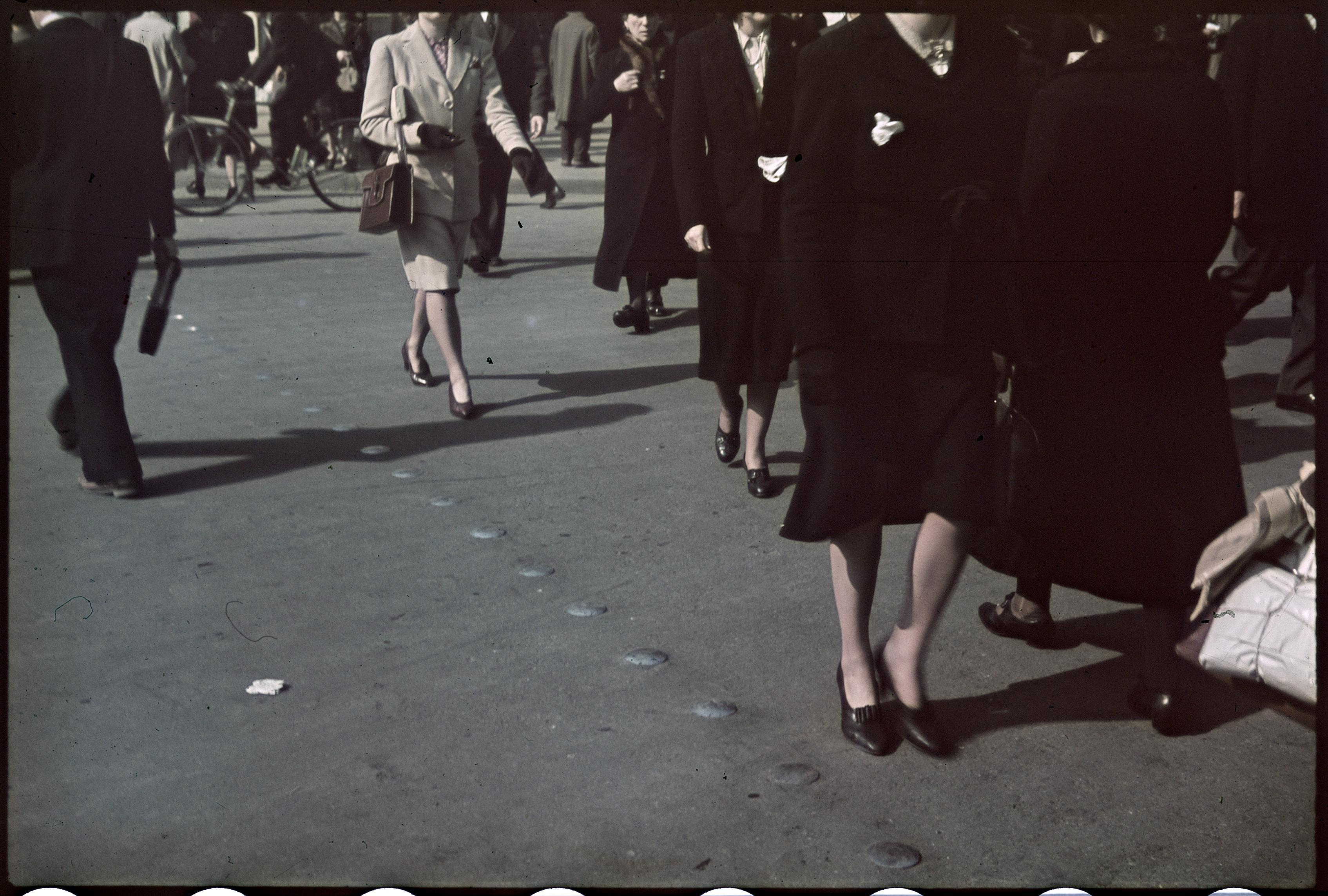 Пешеходный переход на площади Оперы