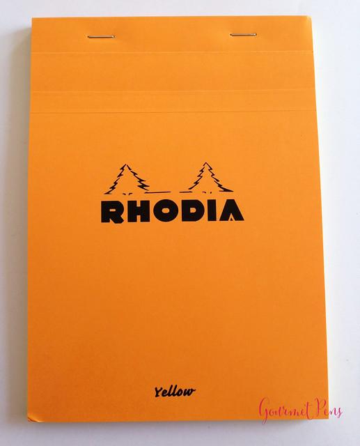 Rhodia No. 16 Yellow Notepad @exaclair @exaclairlimited 1