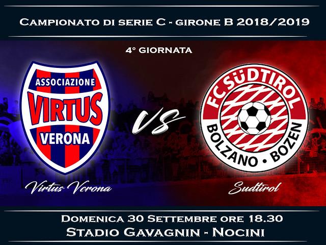 Virtus Verona - Südtirol 3-2 FINALE