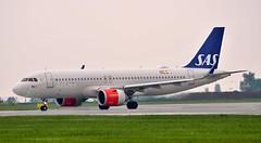 Airbus A320-251Neo(SL) LN-RGL — SAS Scandinavian Airlines