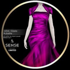 (VENDOR) -AZUL- Gizela Rubelite [LTD Sense]