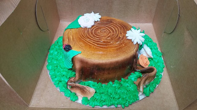 Cake by Nutmeg's Sweet Bakery