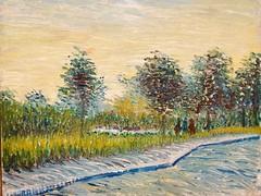 Sure Saint-Pierre at sunset - Vincent van Gogh