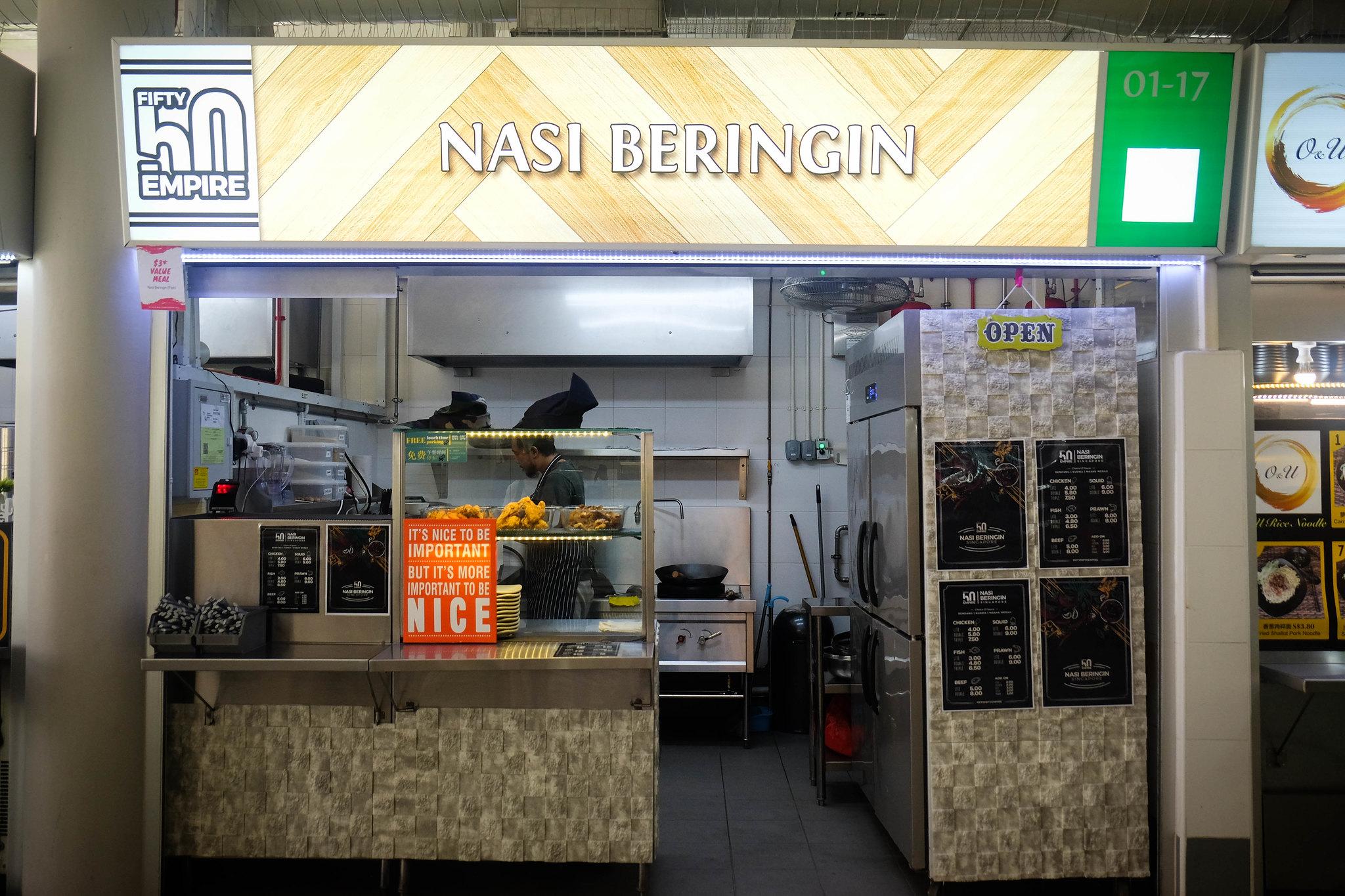 Nasi Beringin Storefront