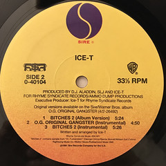 ICE-T:O.G. ORIGINAL GANGSTER(LABEL SIDE-B)