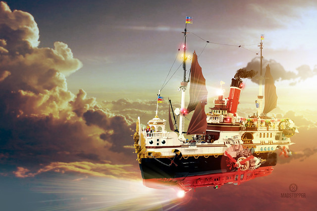 Royal Yacht Skytanic LEGO Titanic