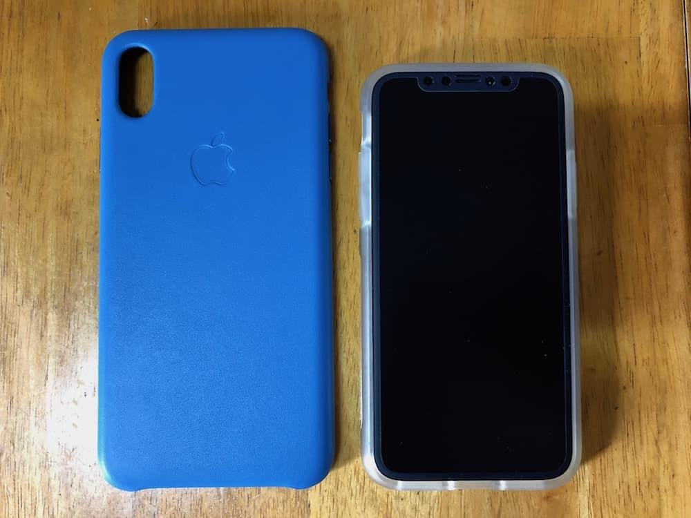 iPhoneXとの大きさの比