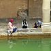 Muslim Women by Bath Baths