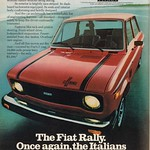 Wed, 2015-03-25 16:37 - 1978 Fiat Rally Advertisement Playboy August 1978