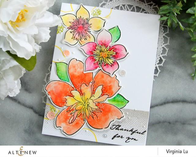 Altenew-FloralArt-Virginia#4