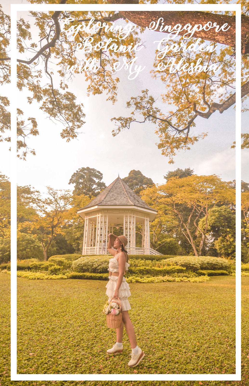 [Fashion] Exploring Singapore Botanic Gardens with My Aleshia Dresses