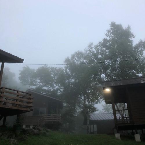 霧の駒出池キャンプ場